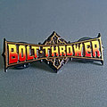 Bolt Thrower Official Enamel Pin Red/Yellow Version Pin / Badge