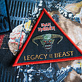 Iron Maiden - Patch - Iron Maiden - Legacy of the Beast Triangle Patch