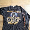 Grave digger knight of the cross longsleeve
