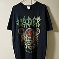 "Vader ""20 Years of Chaos"" Tour 2018 T Shirt XL"