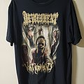 Devourment Japan Tour 2017 T Shirt XL
