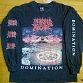 Morbid Angel - TShirt or Longsleeve - Morbid Angel - Domination vinyl art longsleeve (design 2)