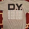 No More Feelings Black White Gray shirt