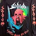 Sodom In The Sigh Of Evil longsleeve TShirt or Longsleeve