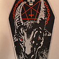Bathory - Patch - Bathory - White Goat patch