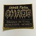 Order From Chaos Frozen in Steel MCMLXXXVII - MCMXCV