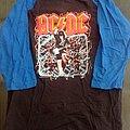 AC/DC raglan/baseball shirt