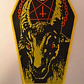 Bathory - Patch - Bathory - Yellow Goat patch