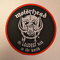 Motörhead - Patch - Motörhead - The Loudest Band In The World patch