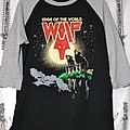 Wolf - TShirt or Longsleeve - Wolf - Edge Of The World  raglan/baseball shirt