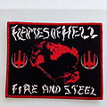 Flames of Hell Fire and Steel patch