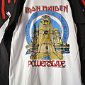 Iron Maiden - TShirt or Longsleeve - Iron Maiden - World Slavery Tour raglan/baseball shirt