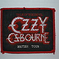 Ozzy Osbourne - Patch - Ozzy Osbourne - Talk To The Devil British Tour patch