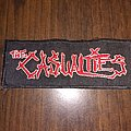 The casualties embroidered logo patch