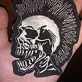 The Exploited - Patch - The exploited skull logo patch