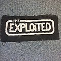 The Exploited - Patch - The exploited cloth logo patch
