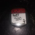 The Exploited - Pin / Badge - The exploited punks not dead button
