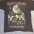 Iron maiden live after death shirt