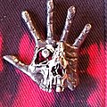 Pushead Hand of Fear pin Pin / Badge