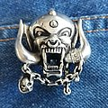 Motorhead Pewter Pin Brooch Pin / Badge