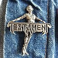 Testament Pin Pin / Badge