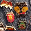 Metallica enamel pins Pin / Badge
