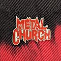 Metal Church pin Pin / Badge