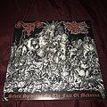 "In League with Satan / Satanik Goat Ritual "" Split2012  Seven Spittings on the Face of Madonna"" split 7"" Tape / Vinyl / CD / Recording etc"