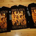 Immolation - close to a world below American & European tour 2001 TShirt or Longsleeve