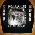 Immolation - forever unsaved tour 1999