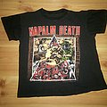 Napalm Death - TShirt or Longsleeve - Napalm death - campaign for musical destruction European tour 1992