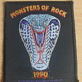Monster Of Rock  Patch