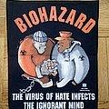 Biohazard back patch