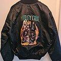 Mötley Crüe - Battle Jacket - Mötley Crüe Satin jacket Shout at the devil