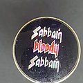 Black Sabbath - Pin / Badge - Sabbath Bloody Sabbath prism pin