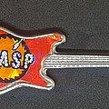 W.A.S.P. - Pin / Badge - Guitar shaped pin