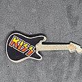 Kiss - Pin / Badge - Guitar prism pin