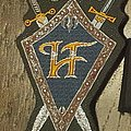 HammerFall - Patch - vintage Hammerfall sheild patch