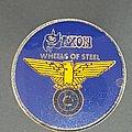 Saxon - Pin / Badge - Prism pin Blue variant