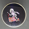 Iron Maiden Killers prism pin