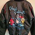 Black Sabbath - Battle Jacket - Balck Sabbath Live Evil tour Satin jacket