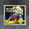 Iron Maiden - Pin / Badge - Square metal pin