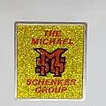 MSG - Pin / Badge - Square glitter metal pin