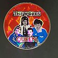 Queen - Pin / Badge - The Works Prism pin