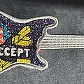 Accept - Pin / Badge - Guitar prism pin Balls...