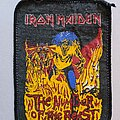 Iron Maiden - Patch - Iron Maiden Number of the beast printed