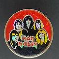 Iron Maiden - Pin / Badge - Maiden band prism pin