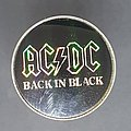 Back in Black prism pin