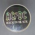 AC/DC - Pin / Badge - Back in Black prism pin