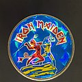 Iron Maiden - Pin / Badge - Number of the beast Prism pin